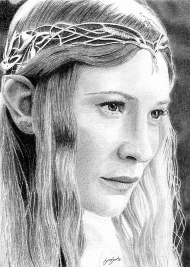 Cate Blanchett by foudroyant